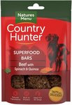 Natures Menu Dog Country Hunter Superfood Bars Beef