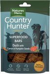 Natures Menu Country Hunter Superfood Bars Duck