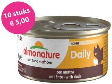 Almo Nature Daily Menu Mousse eend