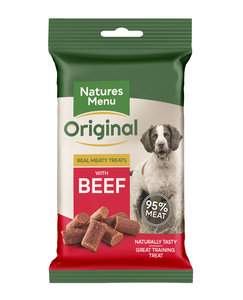 Natures Menu Dog Treats Beef