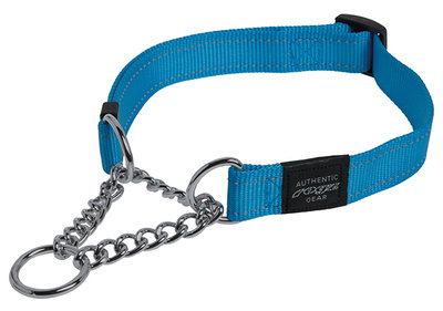 rogz_utility_obedience_halfcheck_turquoise