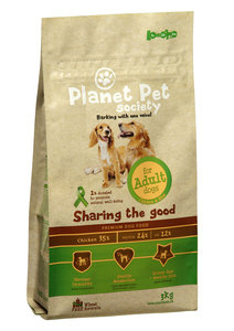 Planet Pet Society Adult Dog Chicken & Rice