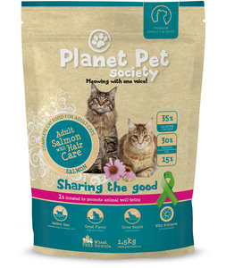 Planet Pet Society Cat Adult Salmon