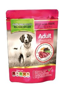 Natures Menu Adult Dog Beef with tripe