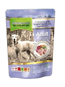 Natures Menu Adult Dog Chicken with rabbit & duck
