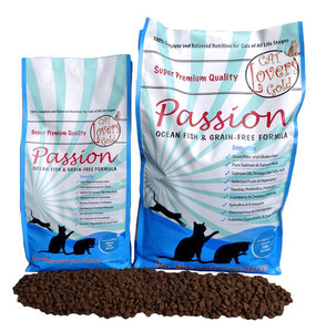 Cat Lovers Gold Passion Ocean Fish Grain Free brok