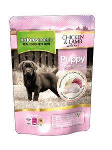 Natures Menu Puppy Dog   Chicken with lamb