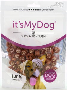 It's My Dog duck & fish sushi